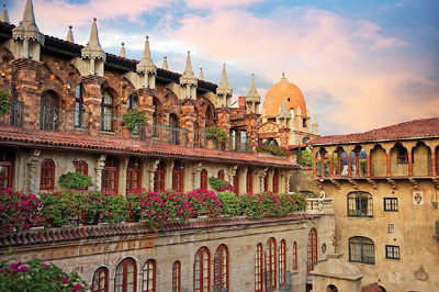 Beautiful Mission Inn in Riverside