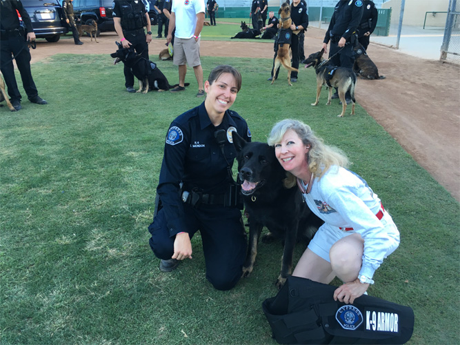 Cypress PD Officer Mondon with K9 Sem