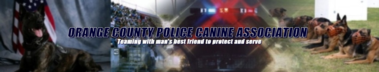 Open the Orange County Police Canine Association web site