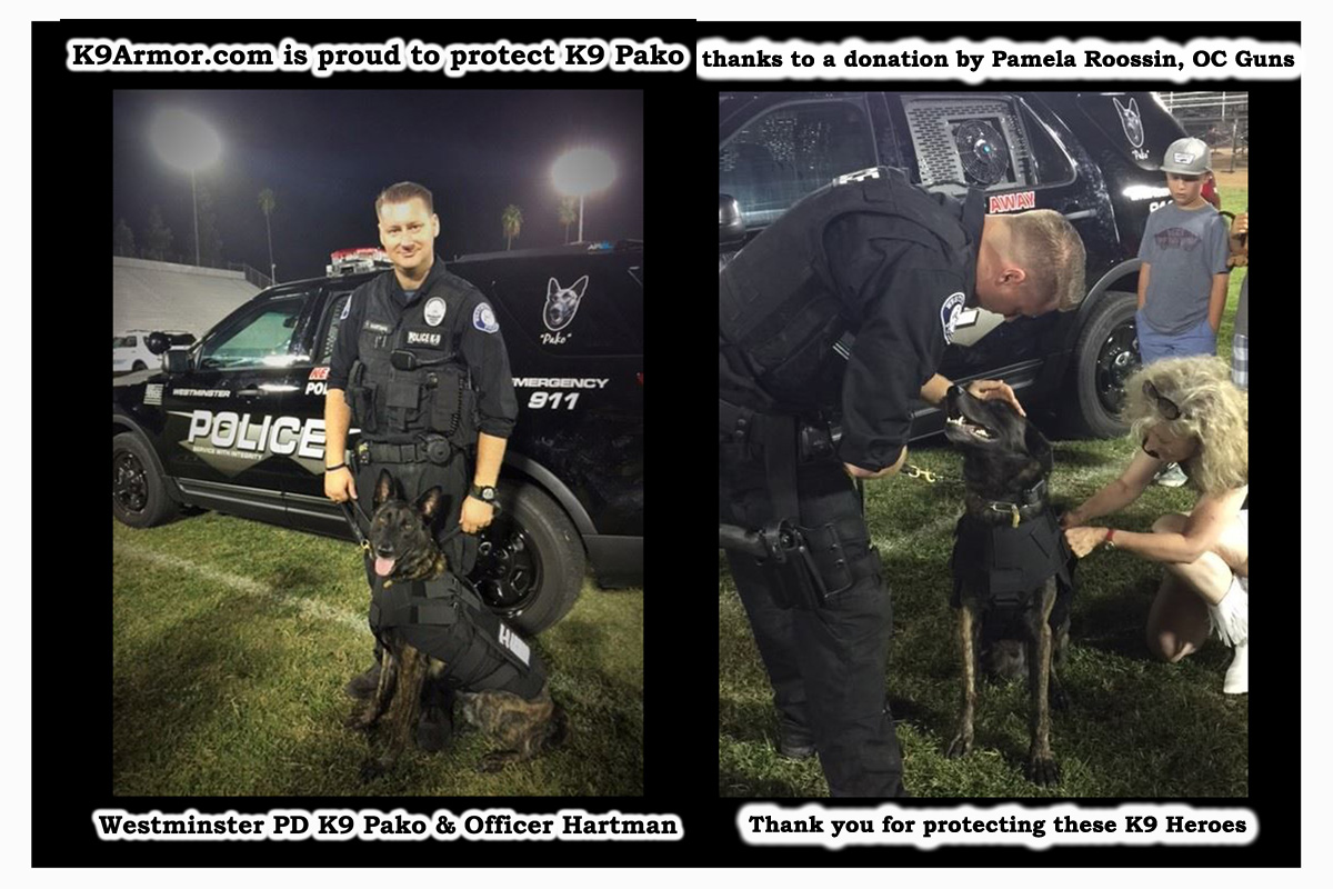 Westminster PD K9 Pako and Officer Hartman