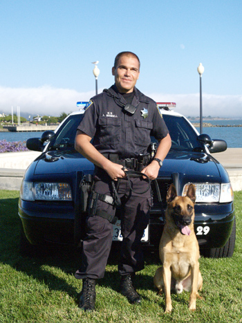 Click to open giant picture of Officer Mandell and Rasp