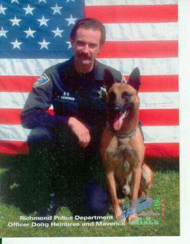 K9 Maverick and Officer Doug Hembree, Richmond PD