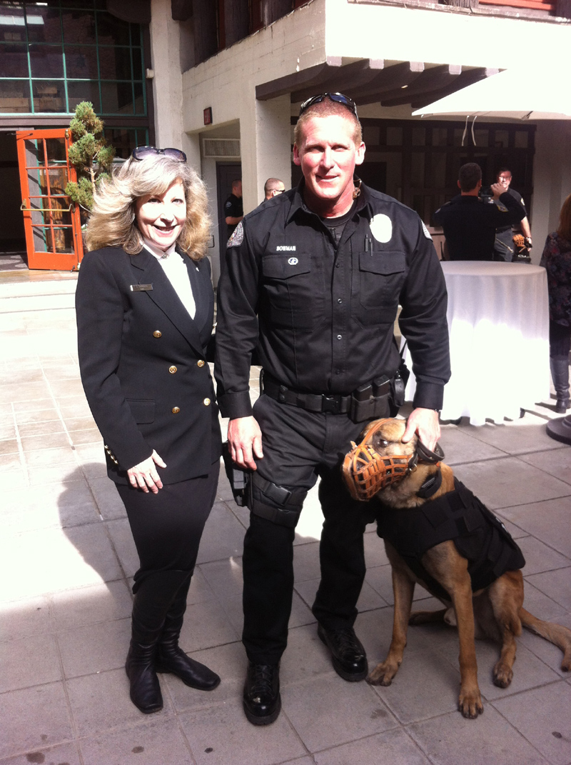 We covered West Covina Police K9 Heroes Robbie and Reiko and Rec and Rocky
