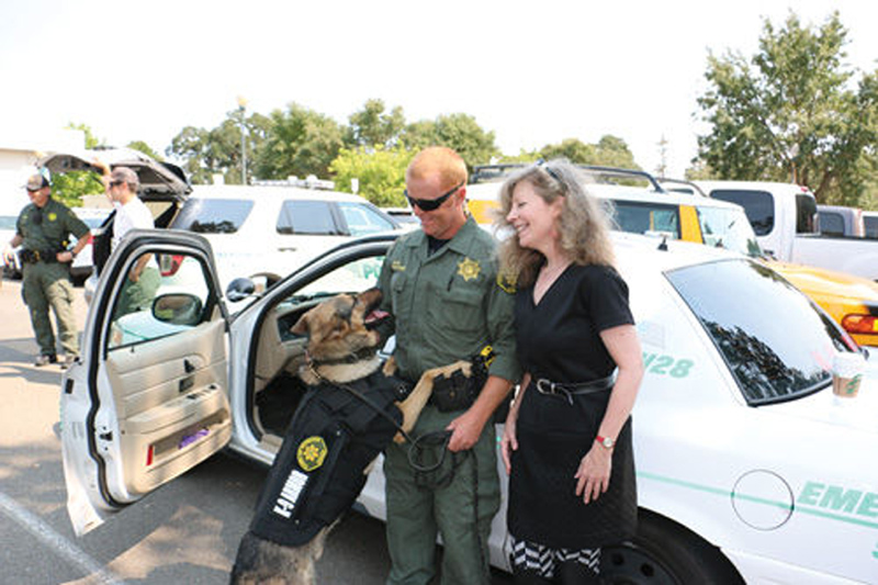 Open the Windsor Times Article K9 Armor for Windsor PD K9 Jags