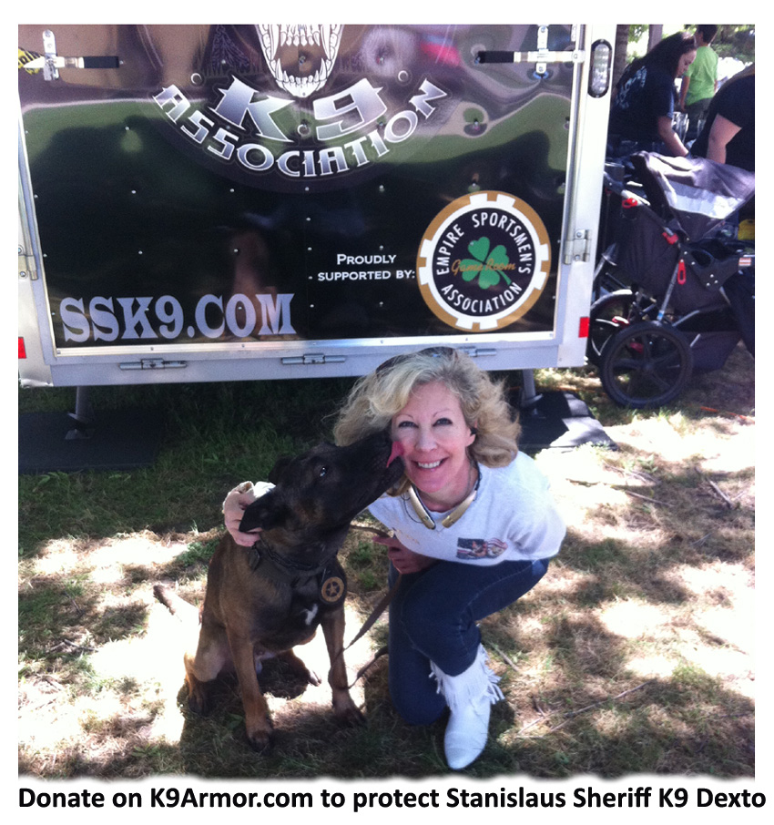 K9 Dexto and K9 Armor cofounder Suzanne